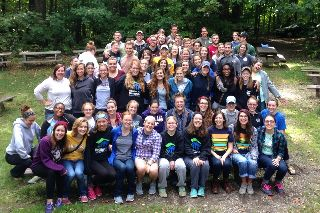 fall retreat, outdoors, camp, the well